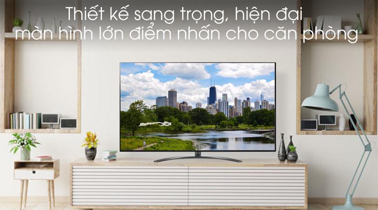 Smart Tivi LG 8K 75 inch 75SM9900PTA - Thiết kế