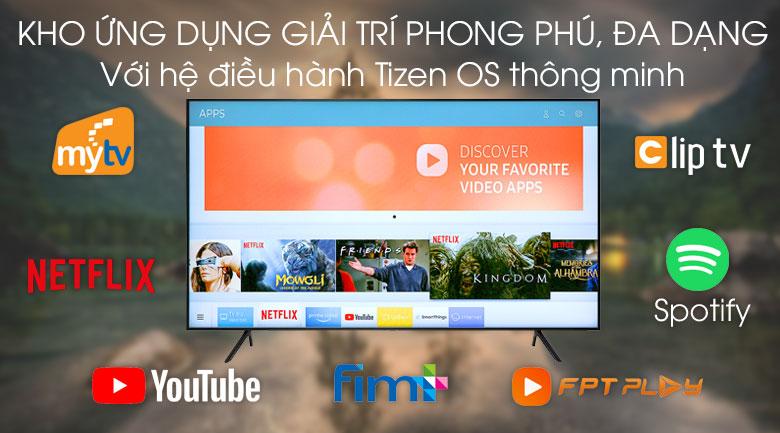 Smart Tivi Samsung 4K 70 inch UA70RU7200 - Hệ điều hành Tizen OS
