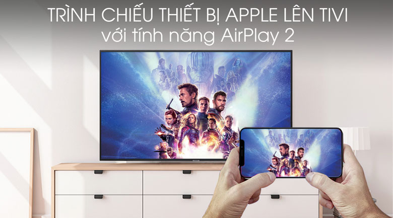 Smart Tivi Samsung 4K 70 inch UA70RU7200 - AirPlay 2