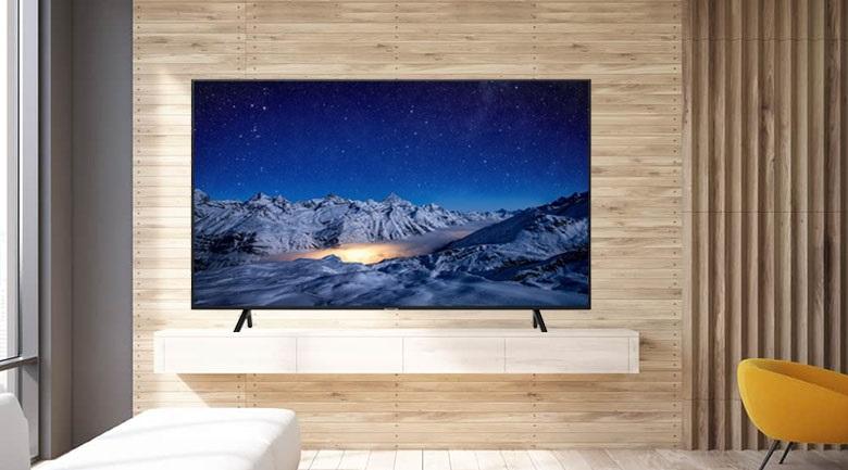 Smart Tivi Samsung 4K 70 inch UA70RU7200 - Kiểu dáng hiện đại, thiết kế tinh tế