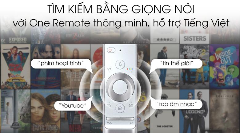 Smart Tivi QLED Samsung 8K 55 inch QA55Q900R - One Remote