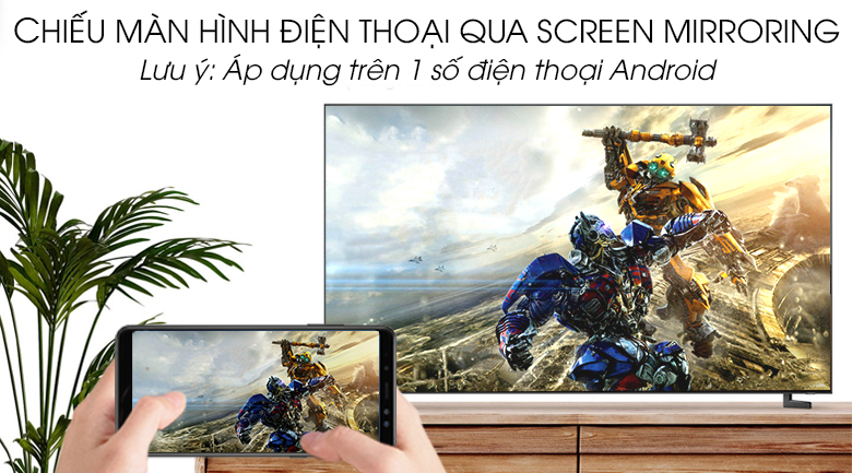 Smart Tivi QLED Samsung 8K 55 inch QA55Q900R - Screen Mirroring