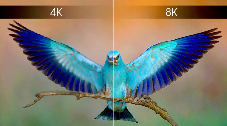 Smart Tivi QLED Samsung 8K 55 inch QA55Q900R - Độ phân giải 8K
