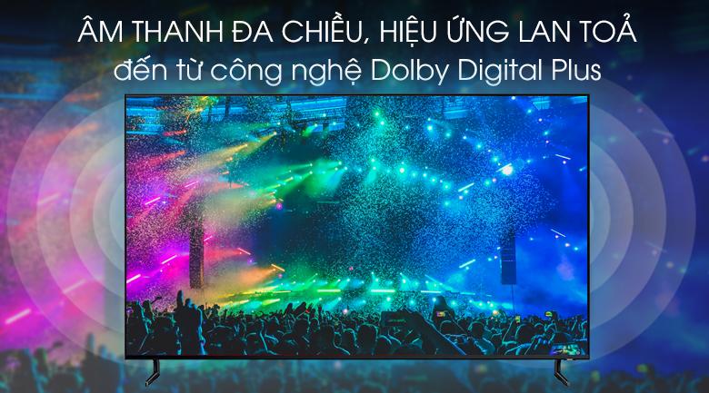 Smart Tivi QLED Samsung 8K 55 inch QA55Q900R - Công nghệ âm thanh Dolby Digital Plus