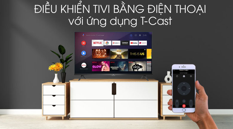 Android Tivi TCL 40 inch L40S66A - TCast