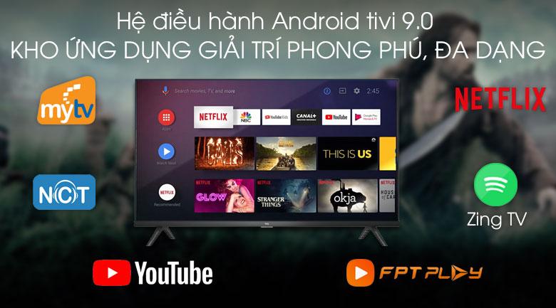 Android Tivi TCL 40 inch L40S66A - Hệ điều hành