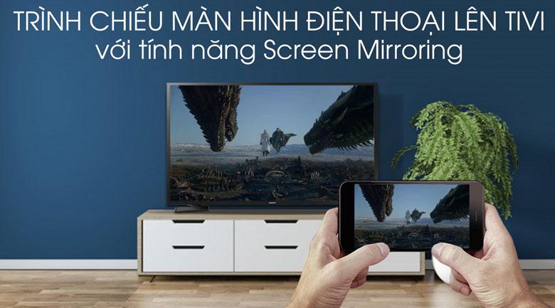 Smart Tivi Samsung 43 inch UA43R6000 - Screen Mirroring