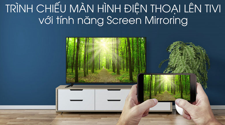 Smart Tivi Skyworth 4K 50 inch 50UB5100 - Screen Mirroring