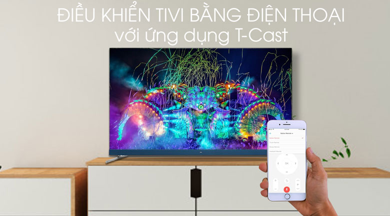 Android Tivi TCL 4K 55 inch L55C8 - T-Cast