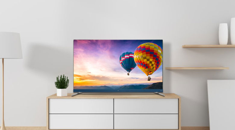 Android Tivi TCL 4K 55 inch L55C8 - Thiết kế