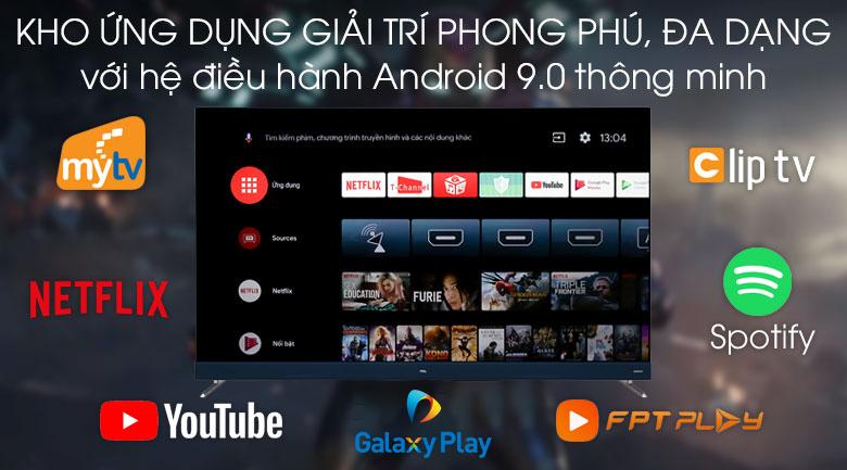 Android Tivi TCL 4K 55 inch L55C8 - Hệ điều hành