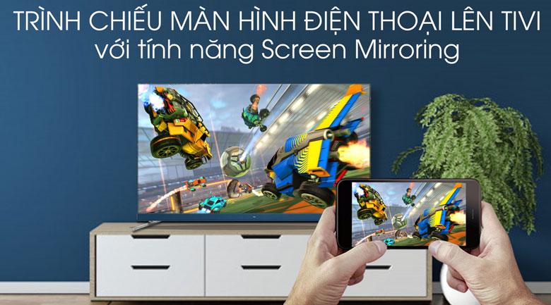 Android Tivi TCL 4K 65 inch L65C8 - Screen Mirroring