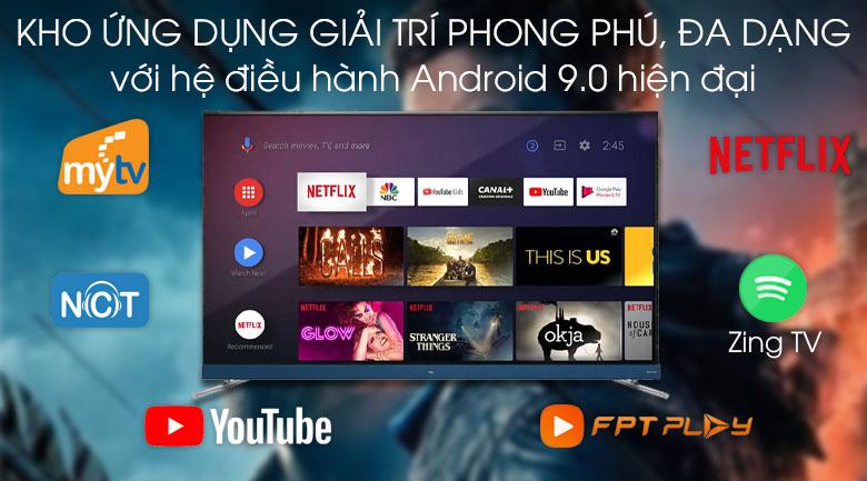Android Tivi TCL 4K 65 inch L65C8 - Hệ điều hành