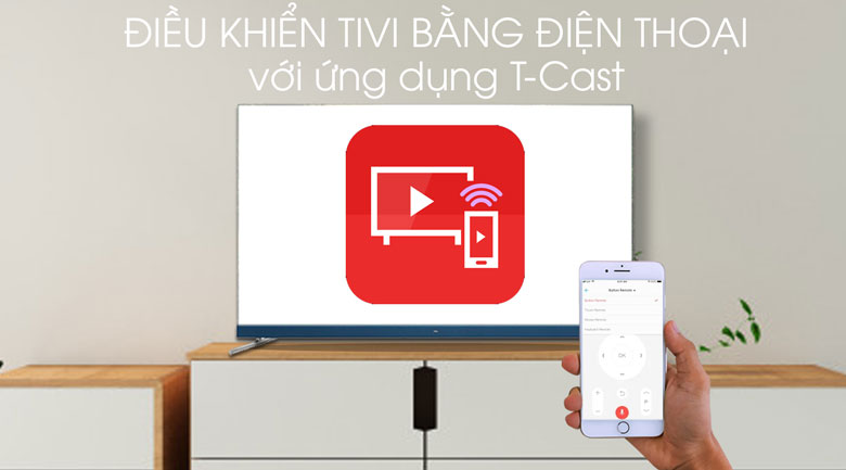 Android Tivi TCL 4K 65 inch L65C8 - T-Cast