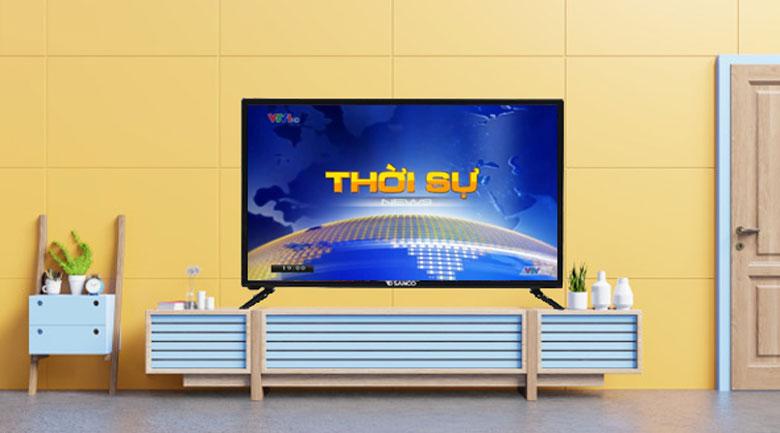 Tivi Sanco 32 inch H32T100 - Đầu thu DVB-T2