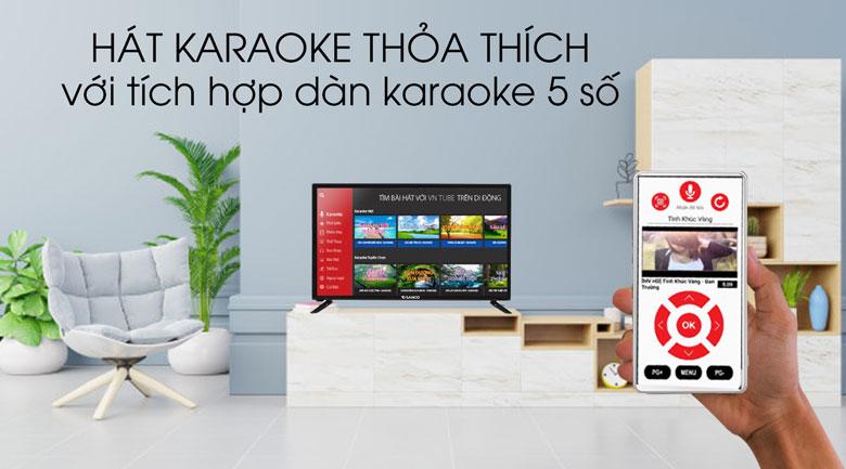 Tivi Sanco 32 inch H32V300 - Karaoke