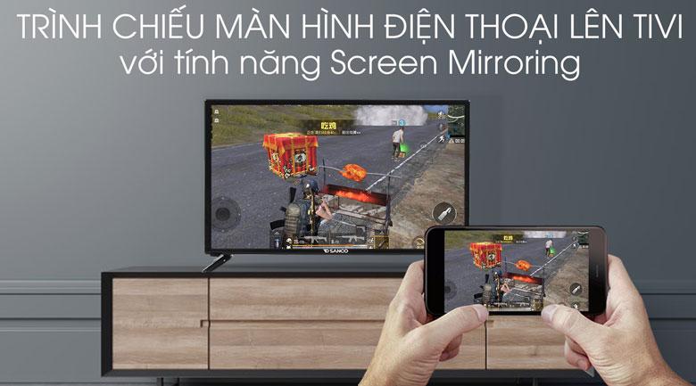 Tivi Sanco 32 inch H32V300 - Screen Mirroring