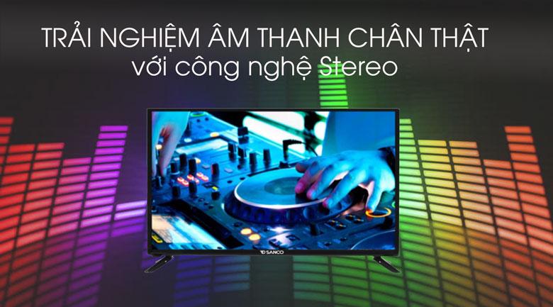 Tivi sanco H43V300-âm thanh