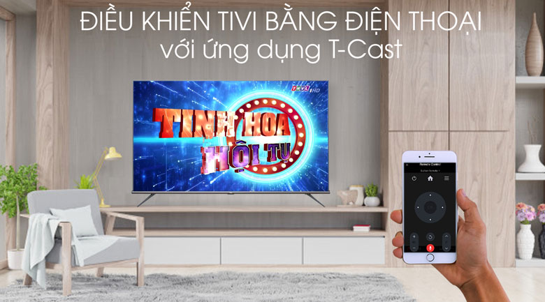 Android Tivi TCL 4K 75 inch L75A8 - Tcast
