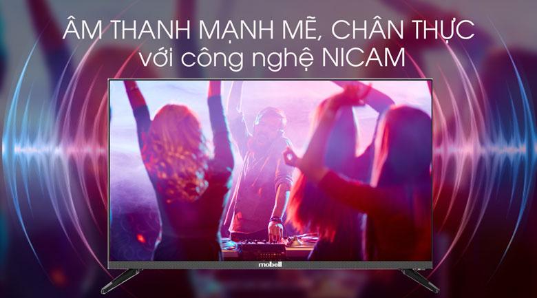 Công nghệ NICAM - Smart Tivi Mobell 32 inch 32W600A1