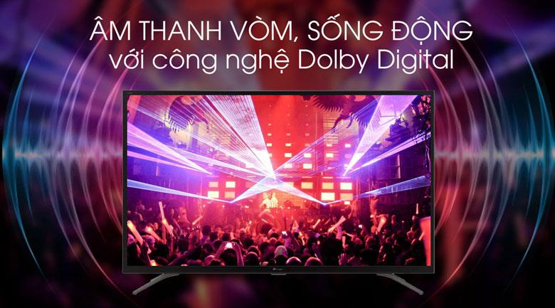 Dolby Digital - Android Tivi Casper 43 inch 43FG5000