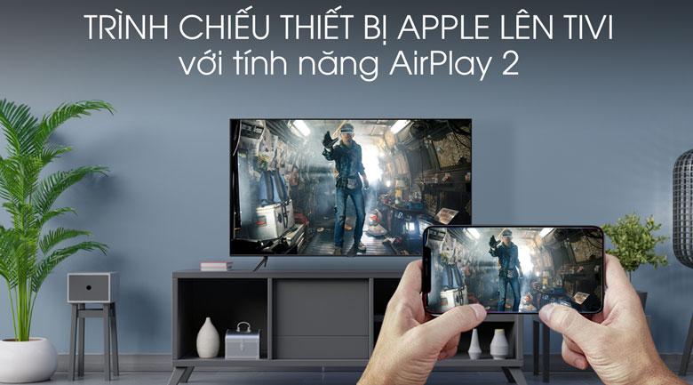 AirPlay 2 - Smart Tivi QLED Samsung 4K 43 inch QA43Q60T