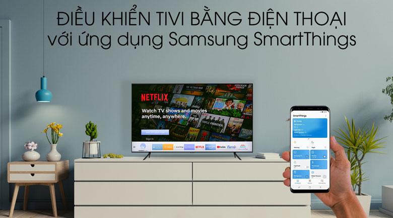 SmartThings Smart Tivi QLED Samsung 4K 43 inch QA43Q60T