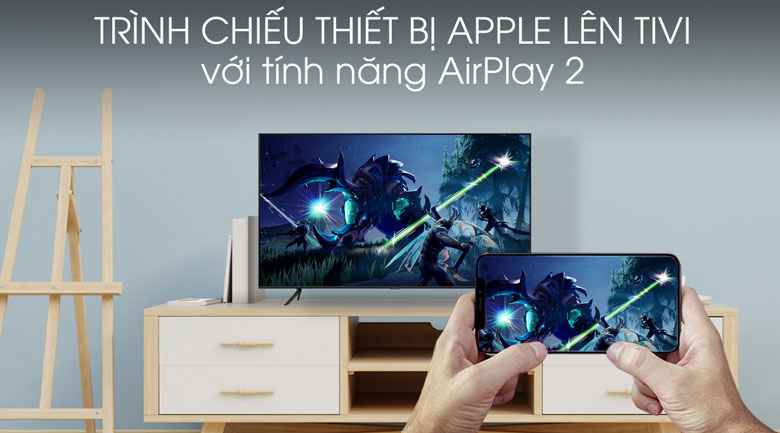 AirPlay 2 Smart Tivi QLED Samsung 4K 50 inch QA50Q60T