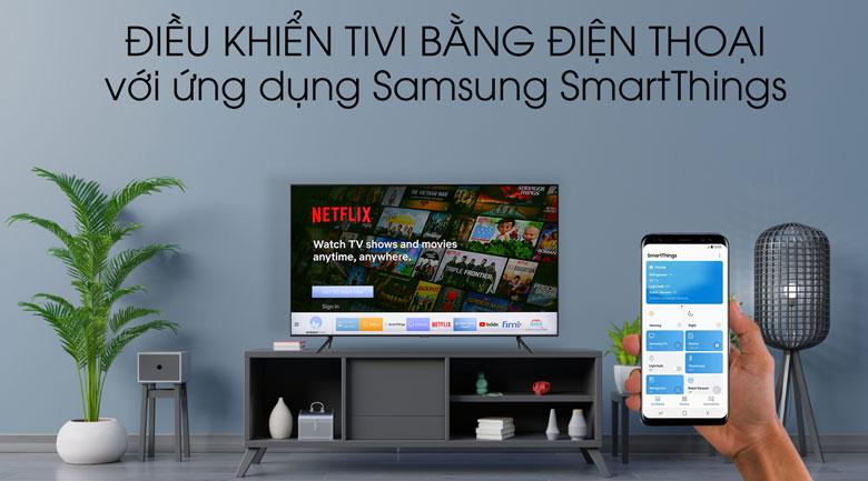 SmartThings Smart Tivi QLED Samsung 4K 55 inch QA55Q60T