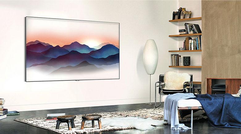 Smart Tivi QLED Samsung 4K 55 inch QA55Q60T - Thiết kế
