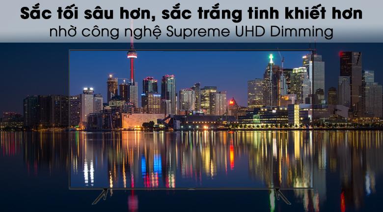 Smart Tivi QLED Samsung 4K 58 inch QA58Q60T - Supreme UHD Dimming
