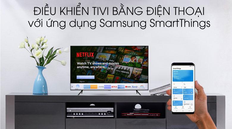 SmartThings Smart Tivi QLED Samsung 4K 58 inch QA58Q60T
