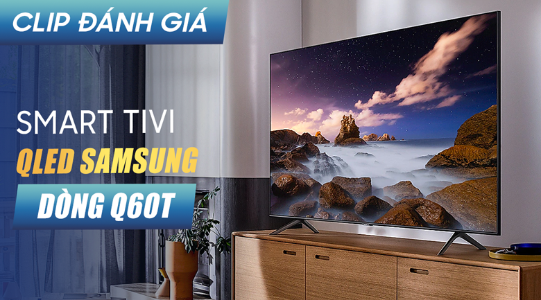 Smart Tivi QLED Samsung 4K 65 inch QA65Q60T