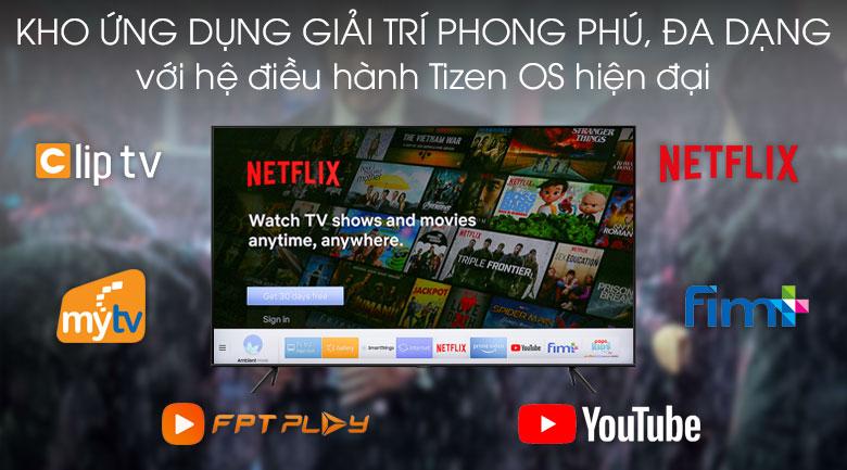 tizen os-Smart Tivi QLED Samsung 4K 65 inch QA65Q60T