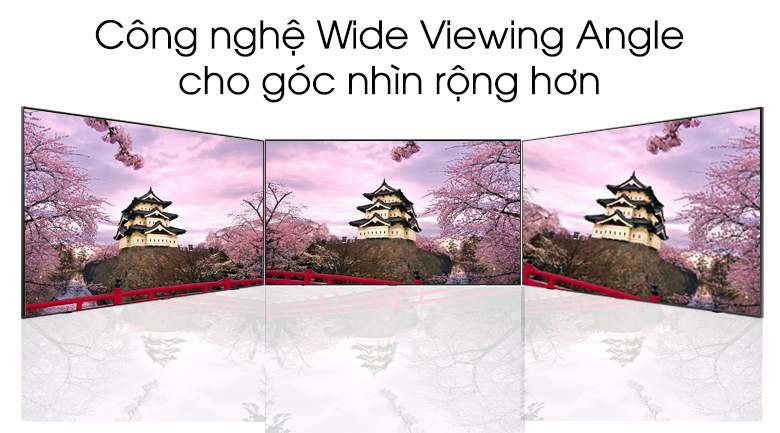 wide viewing angle-Smart Tivi QLED Samsung 4K 65 inch QA65Q60T