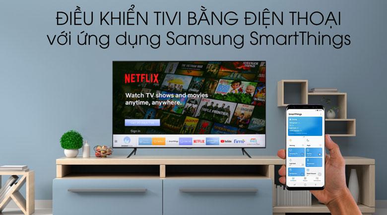 smartthings-Smart Tivi QLED Samsung 4K 75 inch QA75Q60T