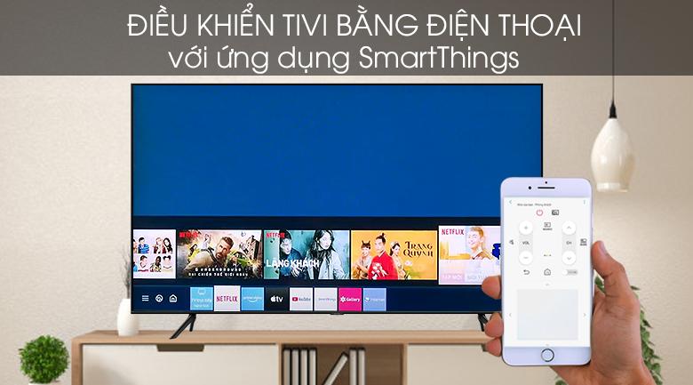 SmartThings - Smart Tivi QLED Samsung 4K 75 inch QA75Q60T