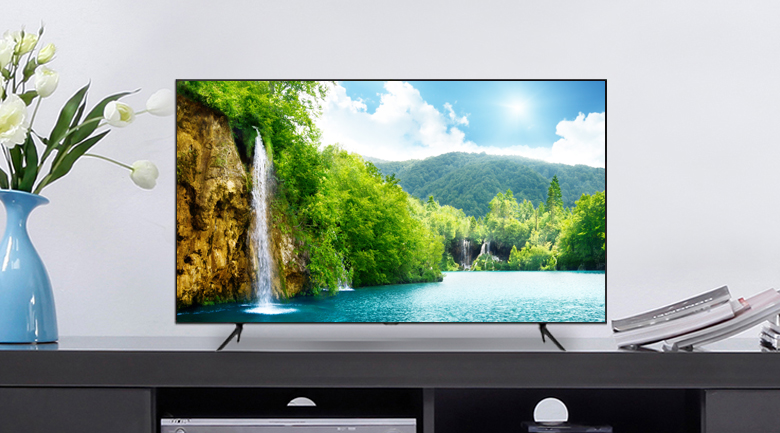 Thiết kế Tivi QLED Samsung QA75Q60T