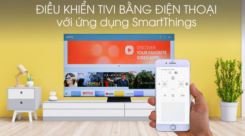 Smart Tivi QLED Samsung 8K 85 inch QA85Q950TS - SmartThings