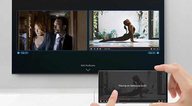 Smart Tivi QLED Samsung 8K 85 inch QA85Q950TS - Multi View