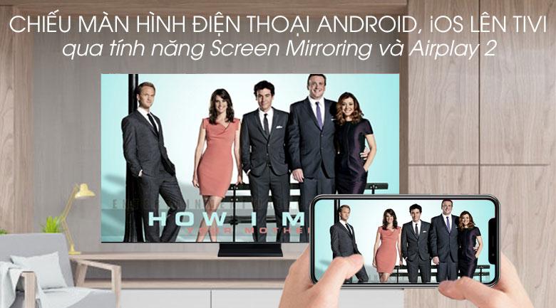 Smart Tivi QLED Samsung 8K 65 inch QA65Q950TS - Screen Mirroring và AirPlay 2
