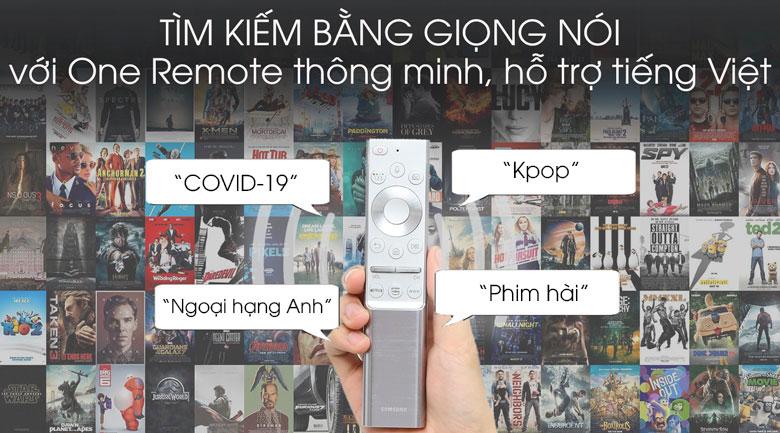 Smart Tivi QLED Samsung 8K 65 inch QA65Q950TS - One Remote