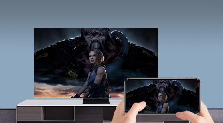Tivi thông minh QLED Samsung 8K 65 inch QA65Q950TS - Phản chiếu màn hình và AirPlay 2