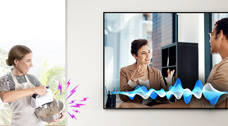 Smart Tivi QLED Samsung 8K 75 inch QA75Q950TS - Active Voice Amplifier