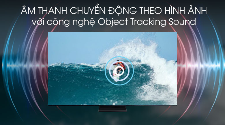 Smart Tivi QLED Samsung 8K 75 inch QA75Q950TS - Object Tracking Sound
