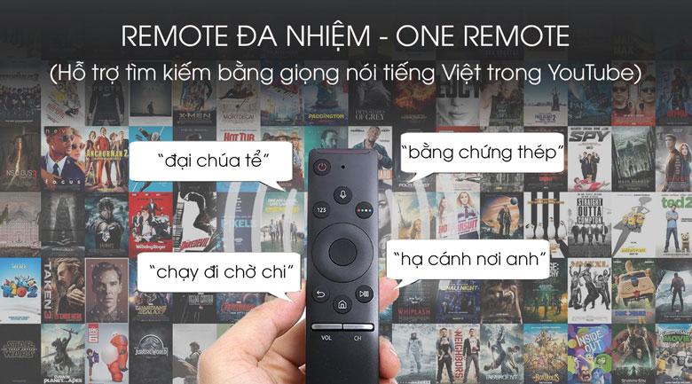 One remote-Smart Tivi QLED Samsung 8K 75 inch QA75Q800T