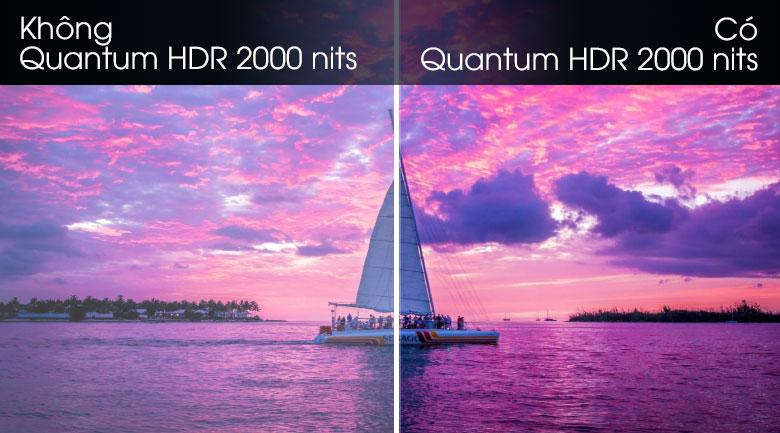 Quantum HDR 2000 nits-Smart Tivi QLED Samsung 8K 75 inch QA75Q800T