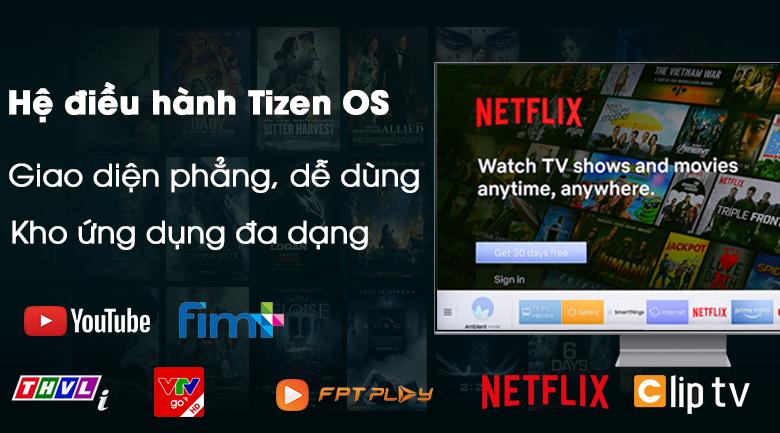 Smart Tivi QLED Samsung 8K 75 inch QA75Q800T - Hệ điều hành Tizen OS