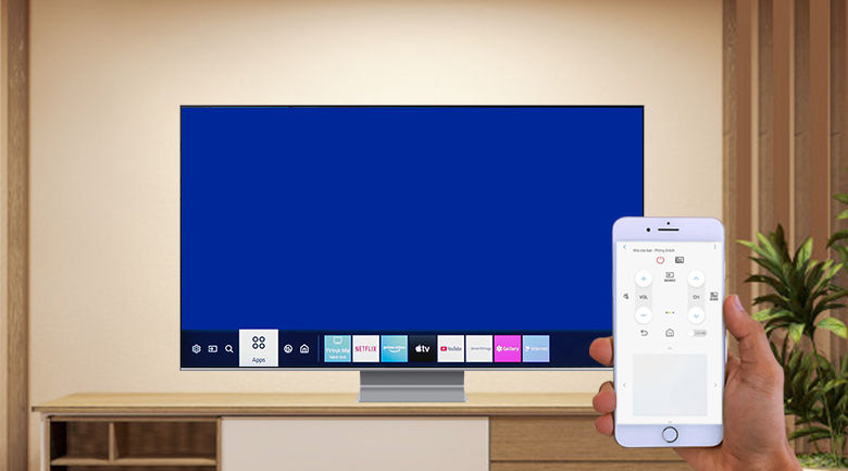 Smart Tivi QLED Samsung 8K 75 inch QA75Q800T - SmartThings