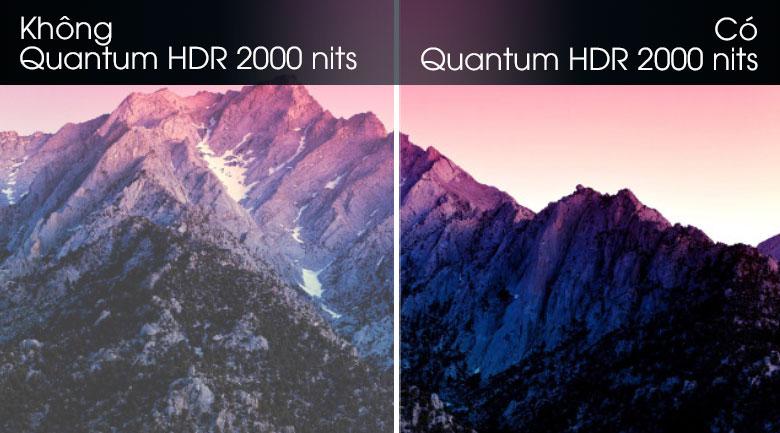 Quantum HDR 2000 nits-Smart Tivi QLED Samsung 8K 65 inch QA65Q800T